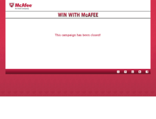 winwithmcafee.com screenshot