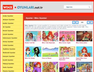winx.oyunlari.net.tr screenshot