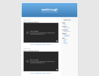 wipe.wordpress.com screenshot