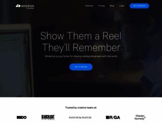 wiredrive.com screenshot