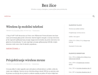 wireless.blogger.ba screenshot