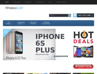 wirelesscellstore.com screenshot
