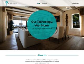 wiretechsolutions.net screenshot