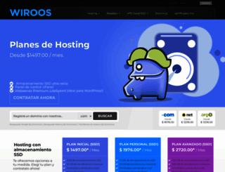 wiroos.com screenshot