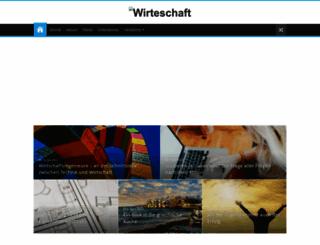 wirteschaft.com screenshot
