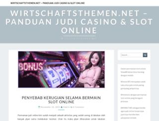 wirtschaftsthemen.net screenshot