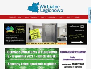 wirtualnelegionowo.pl screenshot