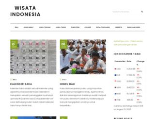 wisataindonesia.co.id screenshot