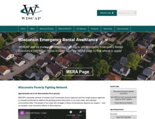 wiscap.org screenshot