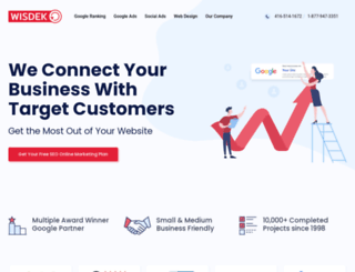 wisdek.com screenshot
