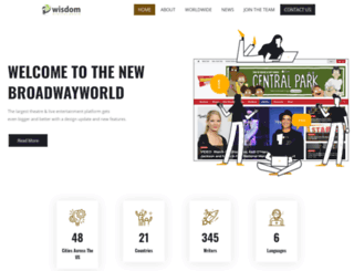 wisdomdigital.com screenshot