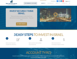 wisemoneyisrael.com screenshot
