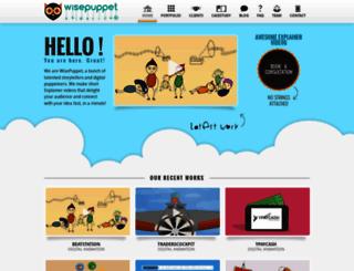 wisepuppet.com screenshot