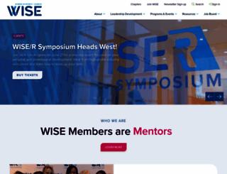 wiseworks.org screenshot