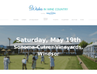 wishesinwinecountry.com screenshot