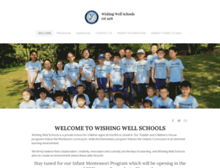 wishingwellschools.com screenshot