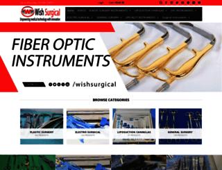 wishsurgical.com screenshot