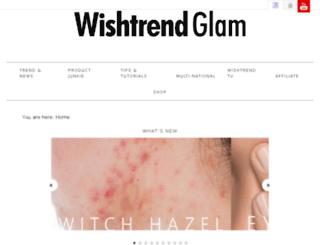 wishtrendglam.com screenshot