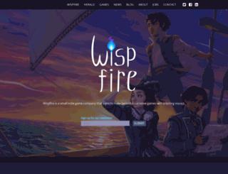 wispfire.com screenshot