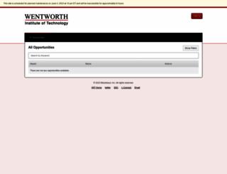 wit.academicworks.com screenshot