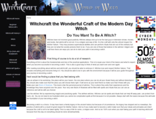 witchcraft.com.au screenshot