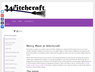 witchcraft.com screenshot
