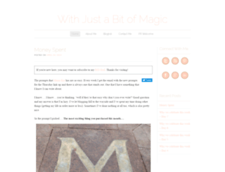withjustabitofmagic.com screenshot