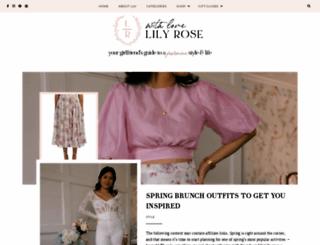 withlovelilyrose.com screenshot
