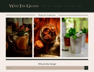withthegrains.com screenshot