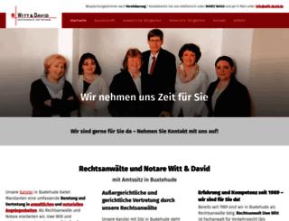 witt-david.de screenshot