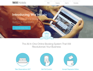 wixbooking.com screenshot