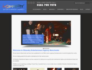 wizardry.co.uk screenshot