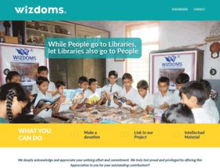 wizdoms.org screenshot