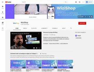 wizishop.tv screenshot