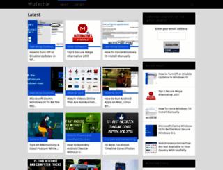 wiztechie.com screenshot