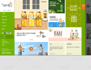 wjfood.co.kr screenshot