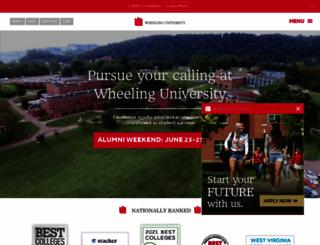 wju.edu screenshot