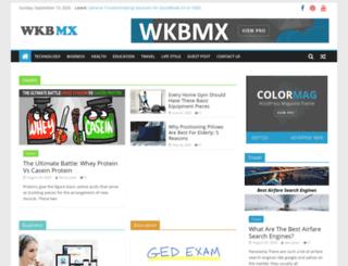 wkbmx.com screenshot