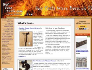 wkfinetools.com screenshot