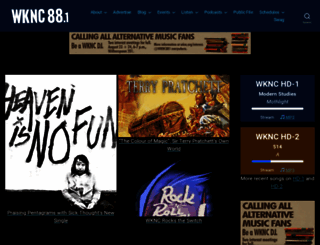 wknc.org screenshot