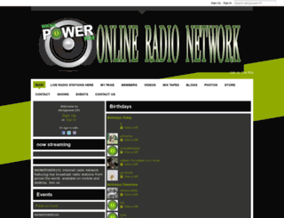 wknzpower101.ning.com screenshot