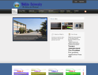 wku.edu.et screenshot