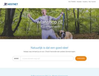 wlanshop.nl screenshot