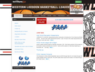 wlblhoops.siplay.com screenshot