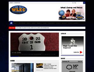 wlec.com screenshot