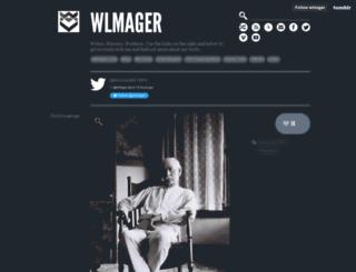 wlmager.tumblr.com screenshot