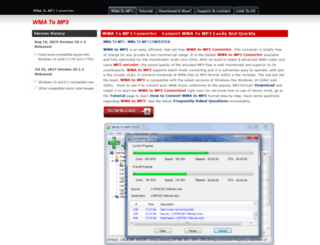 wma-to-mp3.org screenshot