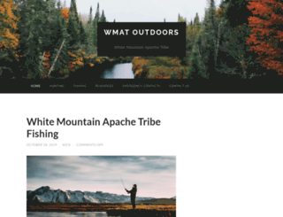 Access white mountain apache tribe game for Wmat game and fish