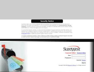 wmc.surewest.net screenshot