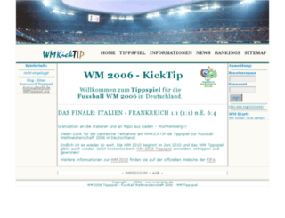 wmkicktip.de screenshot